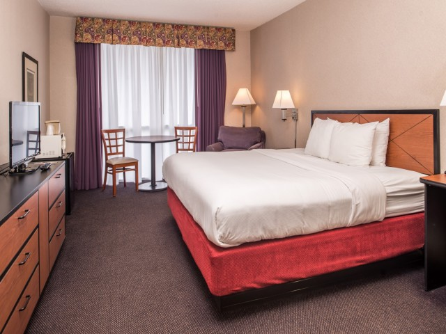 The Hawthorne Inn & Conference Center - 1 Bed Guestroom
