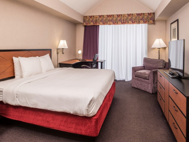 The Hawthorne Inn & Conference Center - Single Bedroom